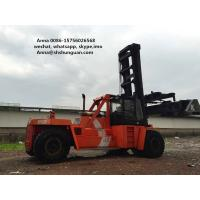 China DCD450-12G Used Container Handler , Shipping Container Lift Truck wholesale