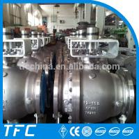 China Factory price stainless steel A351 ball check valve CF8M 2pc ball valve wholesale