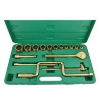 China Customized Color Non Sparking Spanner Set Safety Hardware Maintenance wholesale