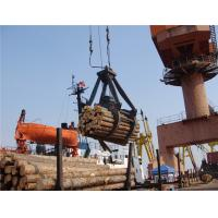 China Four Ropes Mechanical timber/log grab on sale