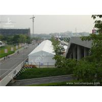 China _A-frame Shape White PVC Fabric Cover Aluminum Frame Tents for Exhibition Events wholesale
