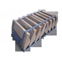 China Wear-resistant and Impact Resistance Martensitic Cr Mo Alloy Steel Coal Mill End Liners wholesale