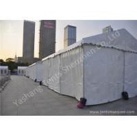 China Outside UV Resistant White Fabric Golf Sport Aluminum Event Tents High Performance wholesale