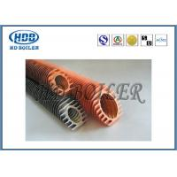 China Industrial Boiler Economizer Heat Exchanger Tubes , Spiral Fin Tube For Heat Transfe wholesale