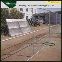 Buy cheap Steel Temporary Site Fence Panels , Chain Link Mesh Fence For Garden / Farm from wholesalers