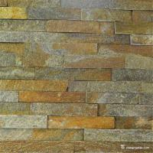 China Slate Culture Stone Old Rust Quartzite Quarry Ledge Stone , China Wall Stone Cladding CZW-04 on sale