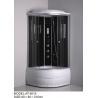 China 35cm Tray single sliding door quadrant shower enclosures 3 Back Panels wholesale