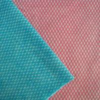 China Diamond Spun-lace Nonwoven Fabric with Big Holes wholesale