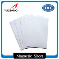 China Strong Flexible Magnetic Sheet Rolls 0.3mm - 10mm Thickness For Bookmarks wholesale