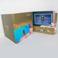 China 3D Audio LCD Touch Screen Video In Print Brochure HD Greeting Card For Business wholesale