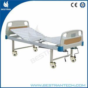 China Double Revolving Manual Hospital Beds ABS Headboard / Footboard , φ125mm Wheels wholesale