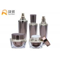 China Luxury Lotion Bottle Acrylic Cosmetic Packaging Set Empty Container SR2255 wholesale