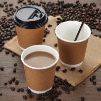 China Disposable Thicken Black Coffee Lids , Safe Dome Switch Hot Drink Lids on sale