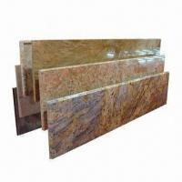 China Stone Countertops, Made of Granite and Marble, Customized Sizes Welcomed with Polished Processing wholesale