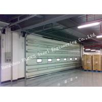 China Vertically Opening Transparent Industrial Garage Doors With Flexible Curtain Shutter Doors wholesale