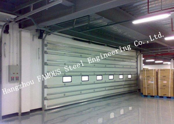 Quality Vertically Opening Transparent Industrial Garage Doors With Flexible Curtain Shutter Doors for sale