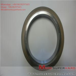 China 175*25*127*10 D35 Metal bonded diamond grinding wheel, glass grinding wheel, diamond superhard grinding wheel on sale