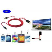 MHL Micro USB to HDMI 1080P Adapter cable for Samsung Galaxy S2S3S4S5 Note 2 3