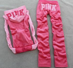 China hotselling pink tracksuit sportswear women