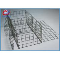 Buy cheap Hot Dipped Galvanized Welded Gabion Box Gabion Baskets Retaining Wall from wholesalers