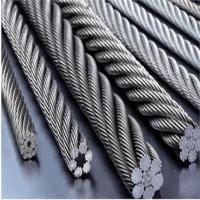 China high quality galvanized/ungalvanized steel wire rope 6*19+FC 6*19+IWR wholesale