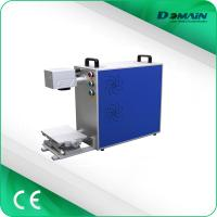 China Stainless Steel Laser Engraving Machine , Fiber Laser Etching Machine For Jewelry wholesale
