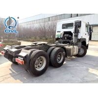 China 290HP Peterbilt Prime Mover Trucks  12.00R20 Tube HW15710 Hulage Truck  tractor wholesale