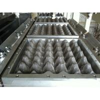 Quality Plastic 30 Cavities Egg Tray Dies Paper Egg Box Aluminum Moulds with CNC for sale