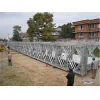 China Multiple - Span Modular Steel Bridges DS Double Single Type Bailey Bridge For Highway wholesale