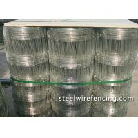 China High Tensile Horse / Cattle Wire Fence Roll 4 Foot With Y Post , ISO Approved wholesale
