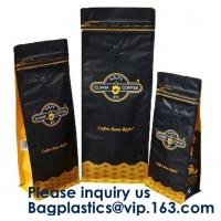 China Box Bottom Bags Stand up Pouch Side Gusset bag Flat Bags Twist Film,RICE PACKAGING BAGS, chocolate packaging pouch bag wholesale