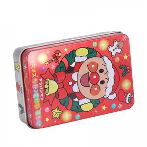 China Rectangular Mini Santa Claus Tin Box, customized tin box, decorative tin,mint tin, metal packaging, tailor-made tin on sale