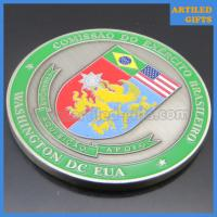 China Comissao Do Exercito Brasileiro EUA Washington DC USA Brazilian Army commemorative coin wholesale