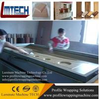 China internal PVC door vacuum membrane press machine made in china on sale