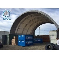 China container and tent storage shelter  Good Price Container And Tent wholesale