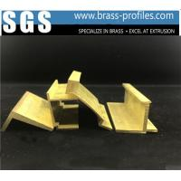 China Expert Shining Golden Windows And Doors Copper Alloy Profiles wholesale