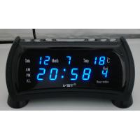 China LED alarm clock with Calendar and temperature wholesale