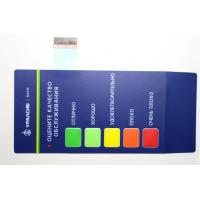 China Industrial Waterproof Membrane Switch Keypad 0.05-1.0mm Thickness on sale