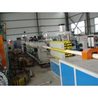 China good quality high effective PVC pipe production line extrusion machine manufacturing plant for sale on sale