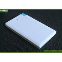 China Mi External Battery Charger , 2500 Mah Smartphone Portable Power Bank With 2 Input wholesale