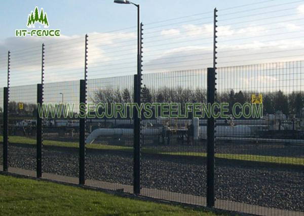 Quality Clearvu 358 Mesh FencingGreen / Blue For High Security Window Grilles for sale