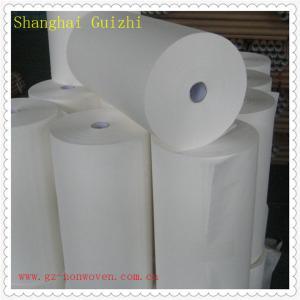 China White cross spunlace nonwoven fabric on sale