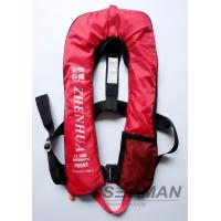 China EN ISO12402-3 CE 150N Inflatable Adult Life Jacket Vest With Safety Harness & Lifeline on sale