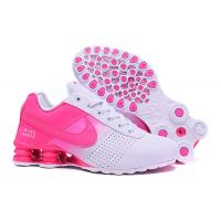 China Pink Red Women's Nike Shox Deliver Shoes Black  Sneakers Euro Size 36-40 US 5-8 Shipping With Original Box 80% OFF on sale