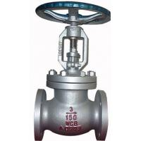 China Bolted Bonnet Ansi Standard Cast Steel Flanged Globe Valve With Hand Operated on sale