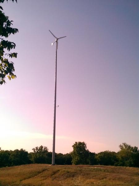 Rooftop Wind Turbine Generator Images