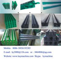 China Conveyor Guide Rail UHMWPE strips for guide rail roller chain guide wholesale