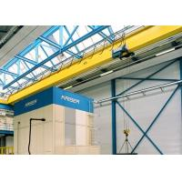 China Single Girder Travelling Overhead Crane With Monorail Electric Hoist FEM / DIN Standard on sale