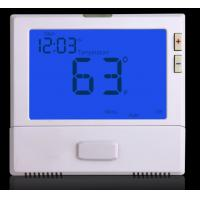 China Single stage 1 Heat 1 Cool Digital Room Thermostat For Air Conditioner wholesale