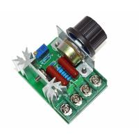 China 2000W 220V AC SCR Electric Voltage Regulator Motor Speed Control Controller wholesale